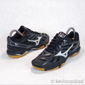 Mizuno Wave Hurricane 3 Black Running Shoe